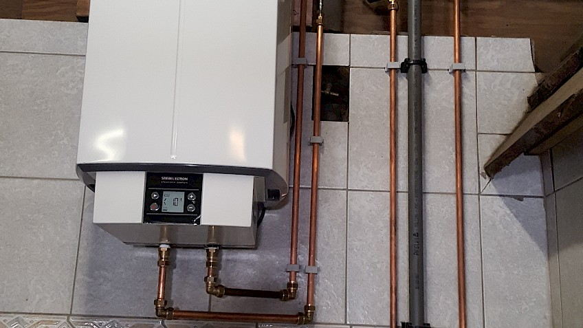 Boiler and continuous-flow water heater - Kylix